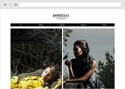 HTML Fotoğrafçılık için Web Sitesi Şablonları | Wix.com