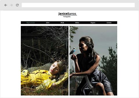 Templates de Fotografia | Wix.com
