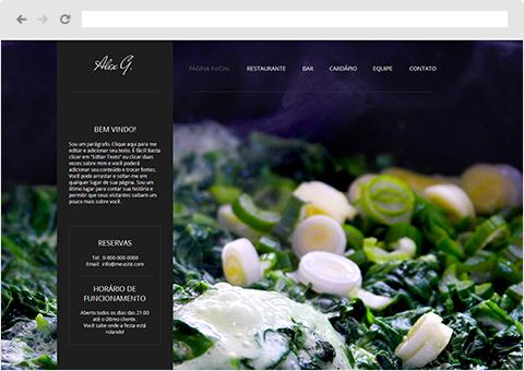 Templates de Restaurante | Wix.com