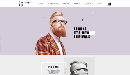 Online store website templates  | Wix.com