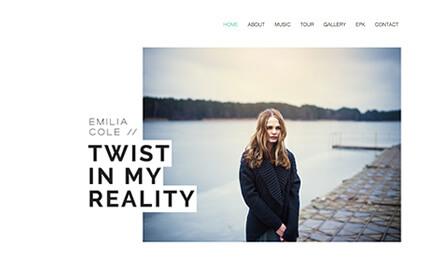 wix web template